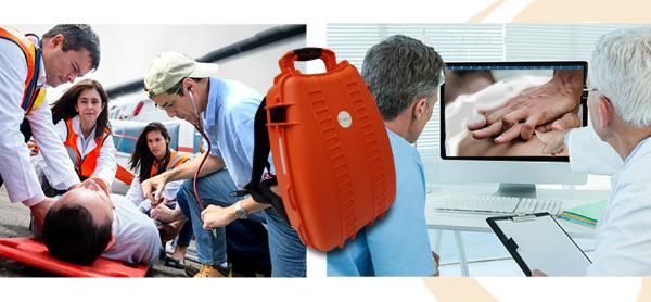 Telemedicine Backpack Saves Lives