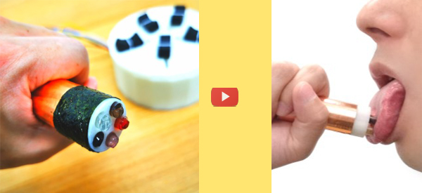 Lickable Device Simulates Complex Flavors [video]