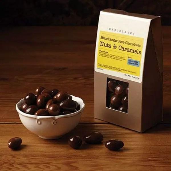Sugar Free Dipped Nuts and Caramels