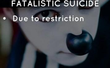 Fatalistic Suicide
