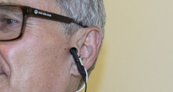 Ear 'Tickling' Therapy Could 'Help Thwart Ageing'
