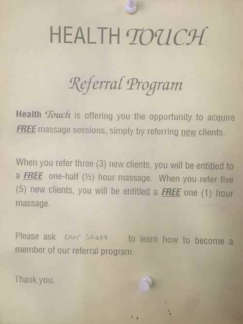 Special Referral Program