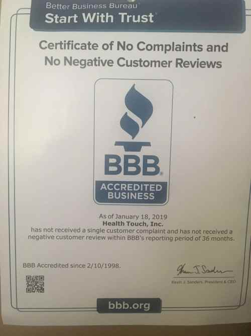 Acredited Business Certificate