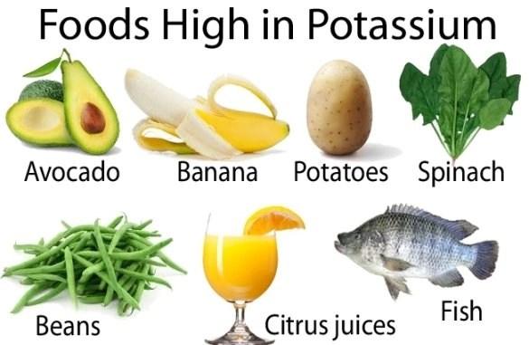 High potassium foods