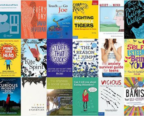book titles for young people around mental health