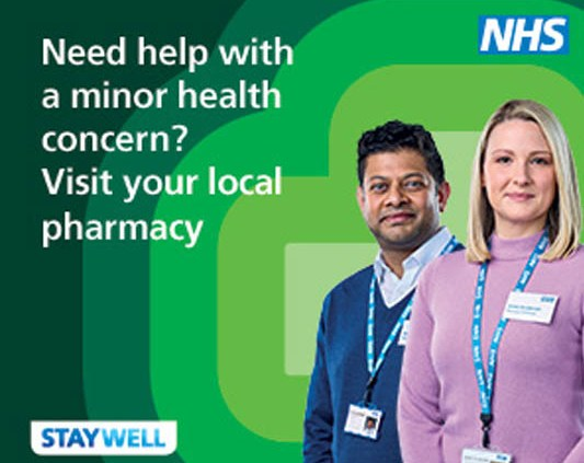 Visit your local Pharmacy