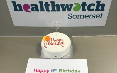 Six years of championing people's views of health and care in Somerset