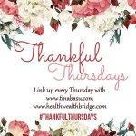 Thankful Thursday :25 days of Christmas