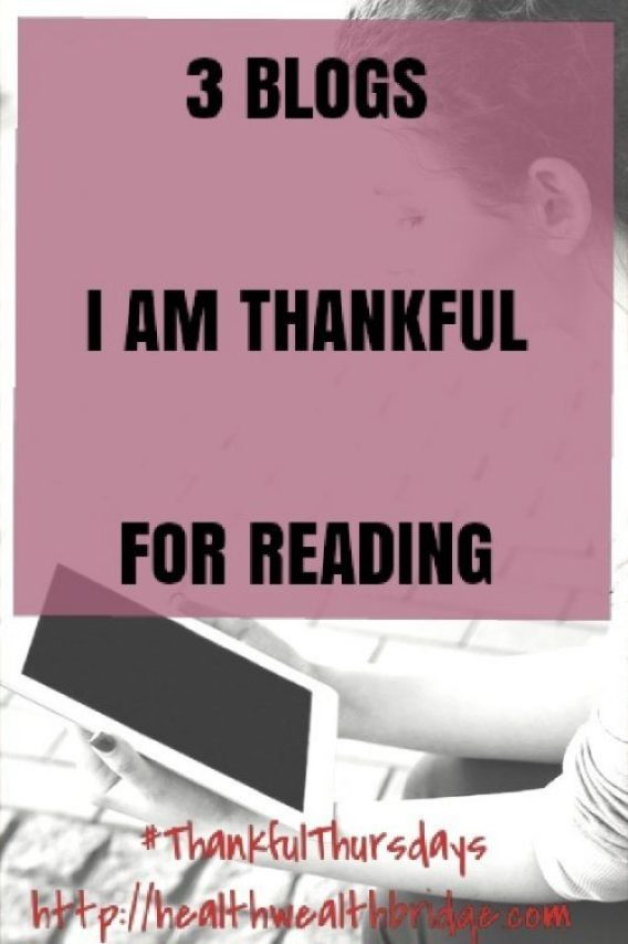 3 Blogs I am thankful for reading is an impossible list for many people.So many blogs shaped our journey.But wen you get down to the framework you will find themi