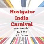 Hostgator India Super deal:Blogging resources I love
