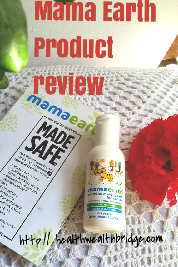 Mama Earth Products in India are exactly what you want for your baby.It's MADE SAFE certified, hypoallergenic, organic and made in ecofriendly manner