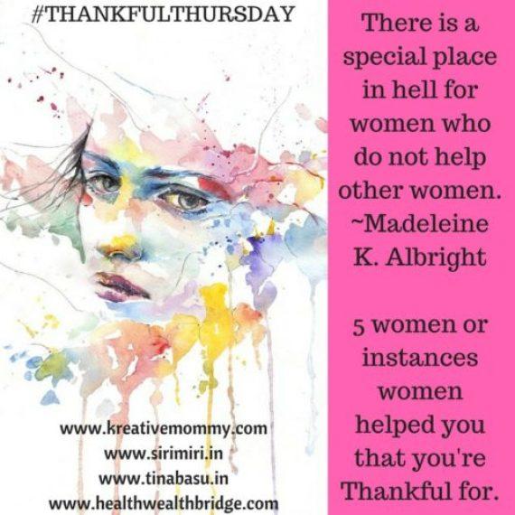 #ThankfulThursdays week 18 prompt