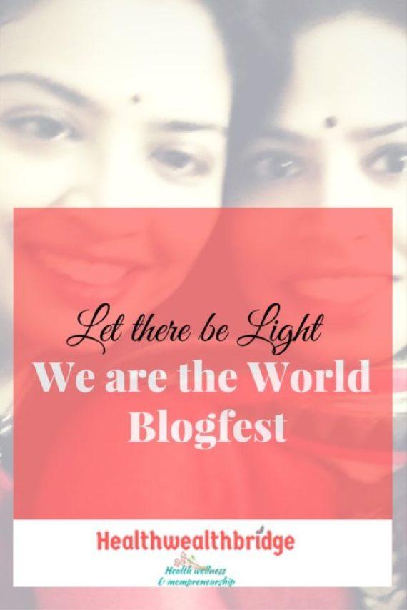 We are the world Blogfest #WATWB