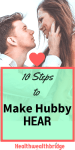 10 Steps Make Hubby Hear :Ignore these at Your Own Peril #MondayMommyMoments