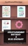 Kreativemommy Blog Birthday,Giveaway Contest and News