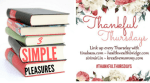 Thankful Thursdays: 3 Simple Pleasures I am thankful for(32)