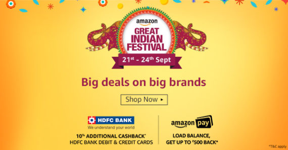 Amazon Shopping Festival
