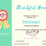 #ThankfulThursdays37 :Thankful for Blogging contests