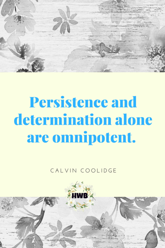 Thankful Thursdays :Quotes on persistence