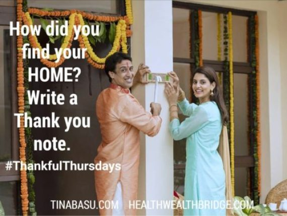 Thankful Thursday 39 :Thankful for Househunting in India my experiments & Experience