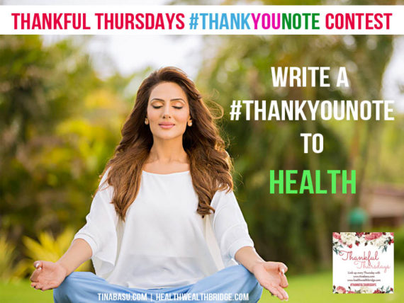 Thank you for Health