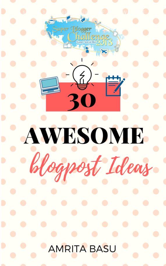 Super Blogger Challlenge Resource