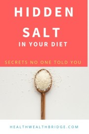 7 Scary truths about Hidden salt  diet(Fast food is a problem)