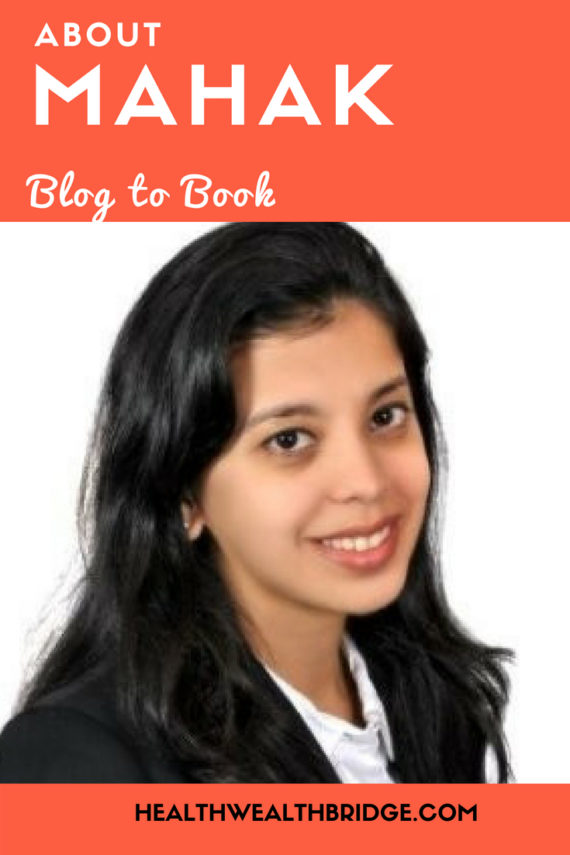 "Mahak Wadhwani Diary of a Baby About the author: Mahak Wadhwani is a career woman turned mom to a 2-year-old and a blogger on Baby & Beyond. She landed headfirst into a life of pooplosions, 3 am feeds, teething & toddler tantrums – a life so exciting that she just had to share her journey with the world. Book Blurb: Have you ever wondered what goes on inside your baby's mind? ""Diary of a Baby"" is a candid, witty take on life from a baby's perspective written as diary entries, followed by an interpretation phases of baby's life from the author's own parenting experience."