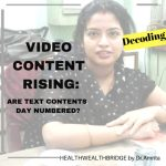 VIDEO CONTENT RISING:ARE TEXT CONTENTS DAY Numbered?