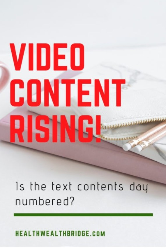 VIDEO CONTENT RISING:Is the text content days numbered?