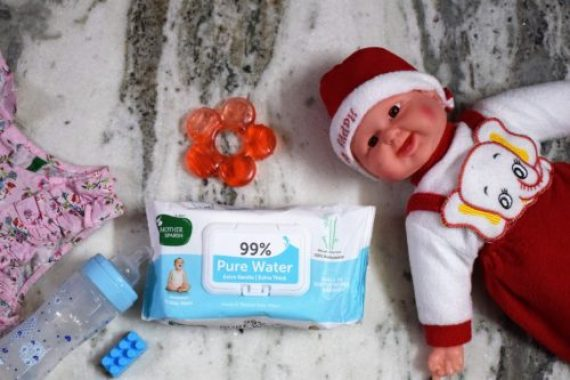 Mother sparsh wipes for Baby