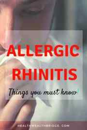 Allergic Rhinitis:What you can do today