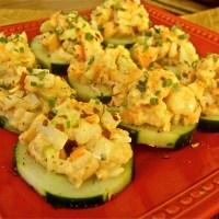 Shrimp Cucumber Slices