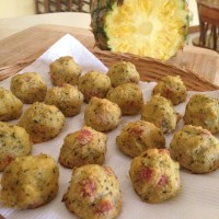 Cauliflower Hawaiian Balls (Paleo)