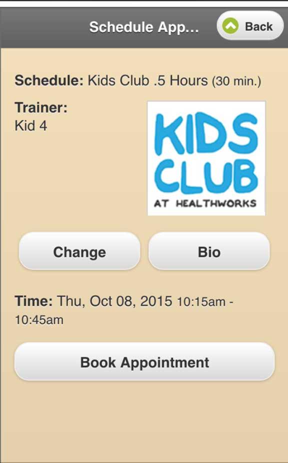 HealthWorks Fitness App