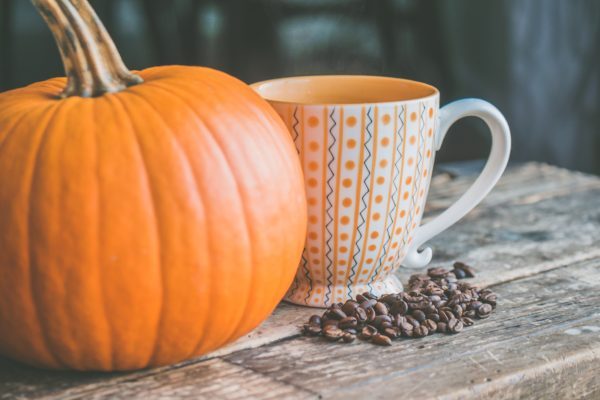 Yum, caffeine and pumpkin spice!
