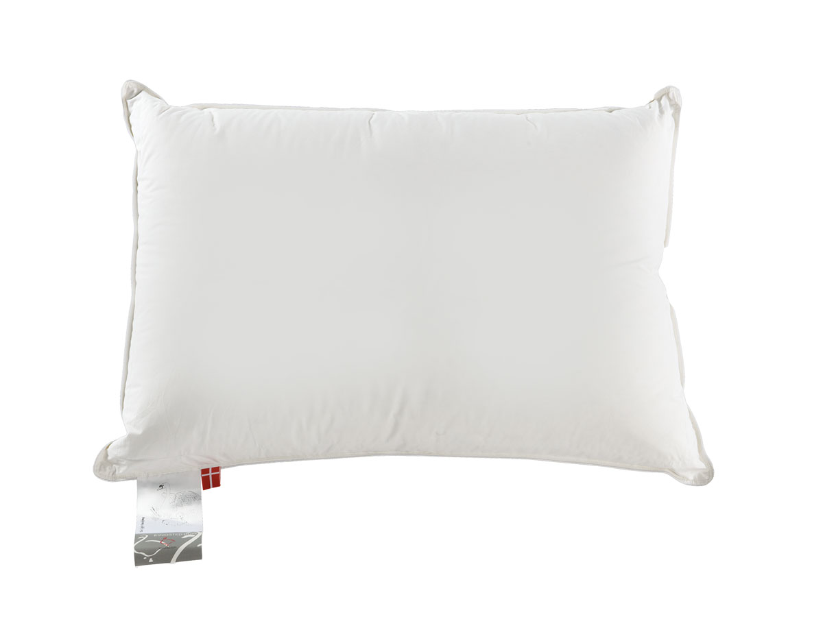 danish dust mite proof down and feather pillow medium support