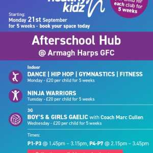 Healthy Kidz Afterschools at Armagh Harps GFC