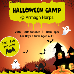 Halloween Camps at Armagh Harps