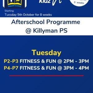 Healthy Kidz Afterschools at Killyman PS