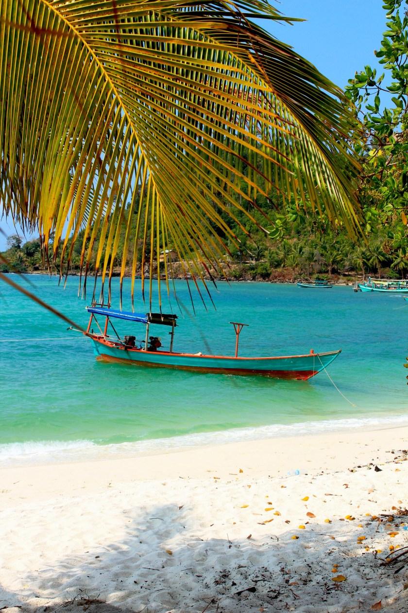 kambodscha strand einsam