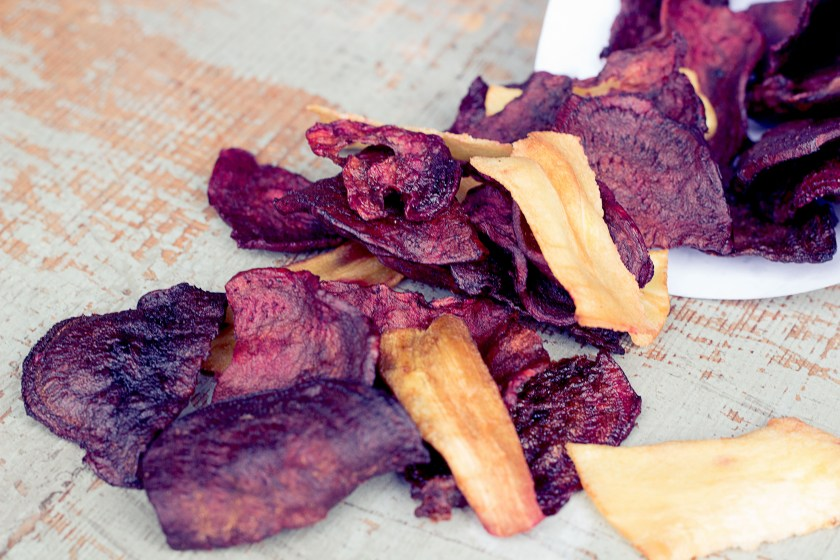 Rote Beete Chips gesund healthy soulfood