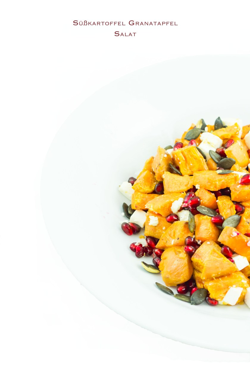 Süßkartoffel Salat gesund