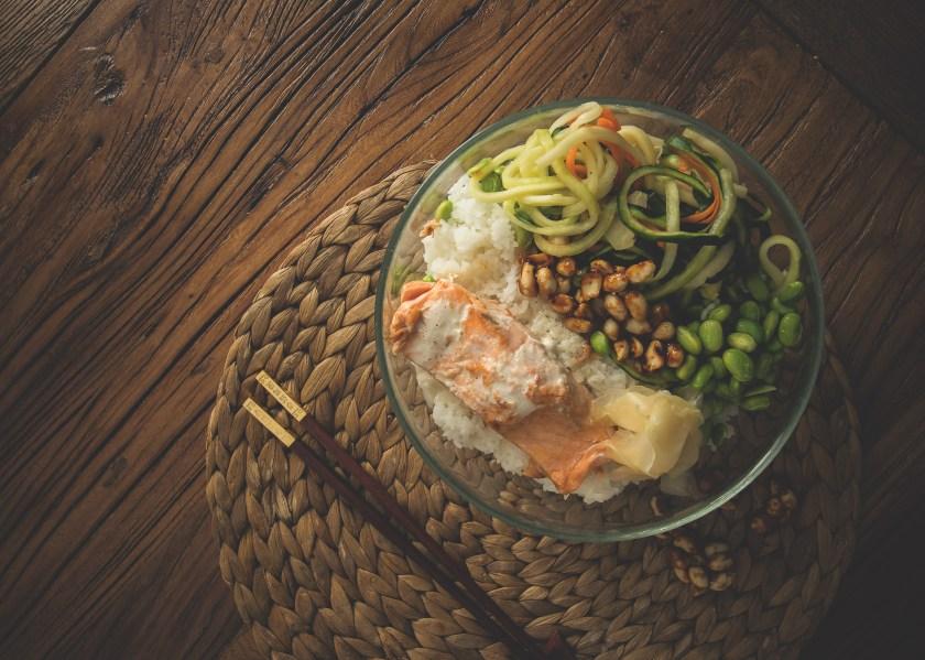 gesundes Reisgericht