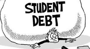 Student debt rock