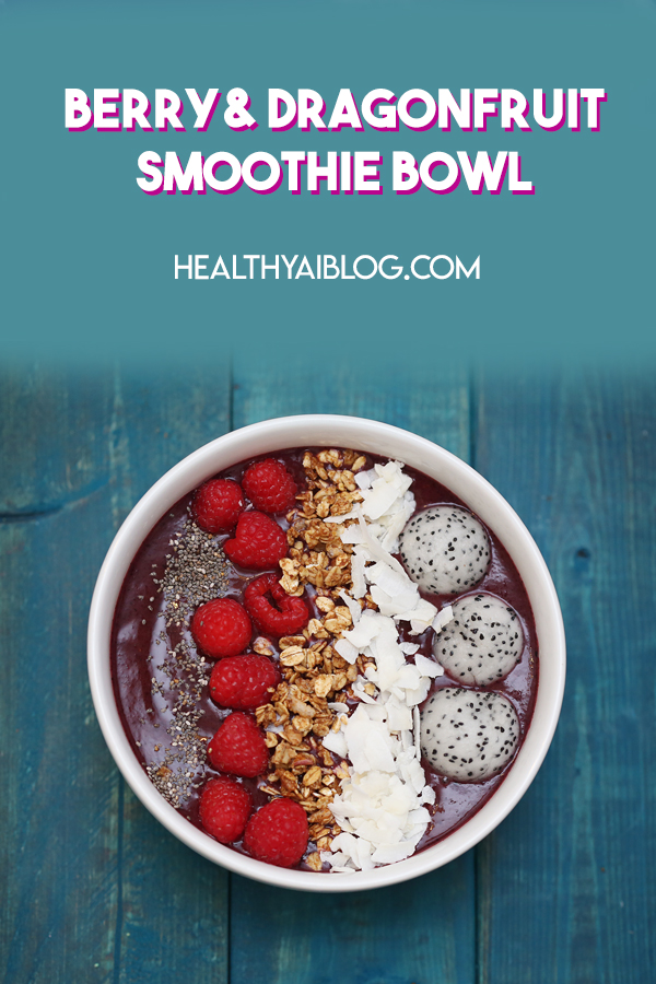 berry and dragonfruit smoothie bowl recipe