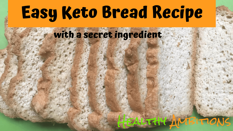 Easy Keto Bread Recipe with a Secret Ingredient