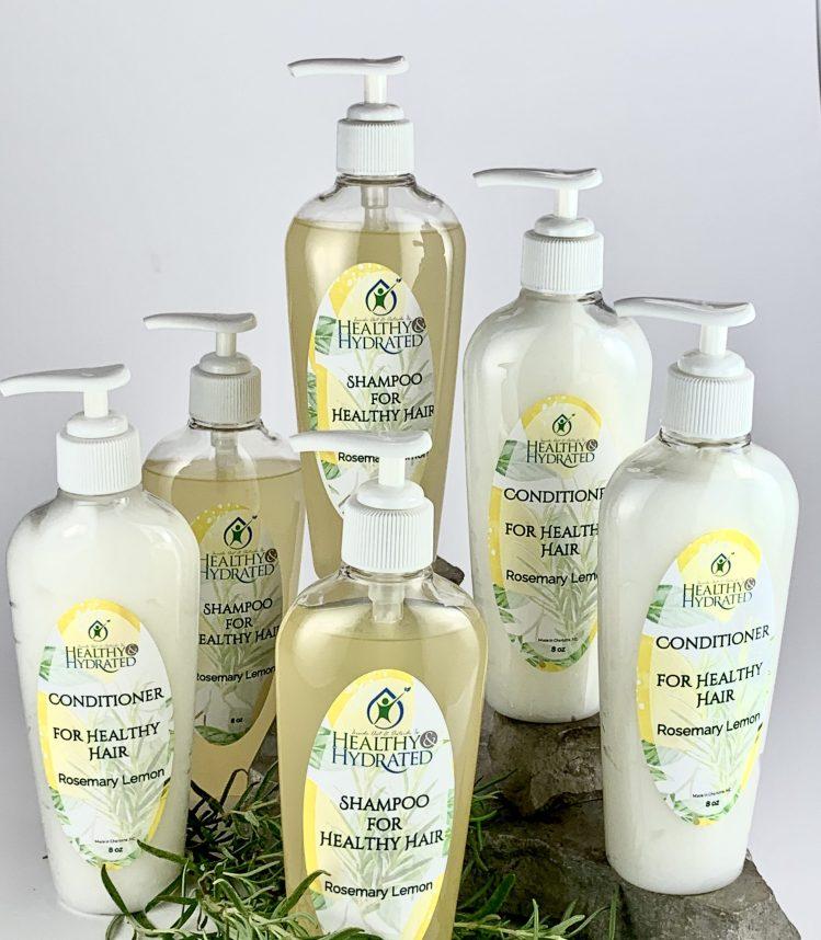 shampoo and conditioner skin care