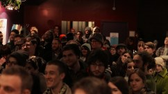 Crowd Anticipates Exhibition Results