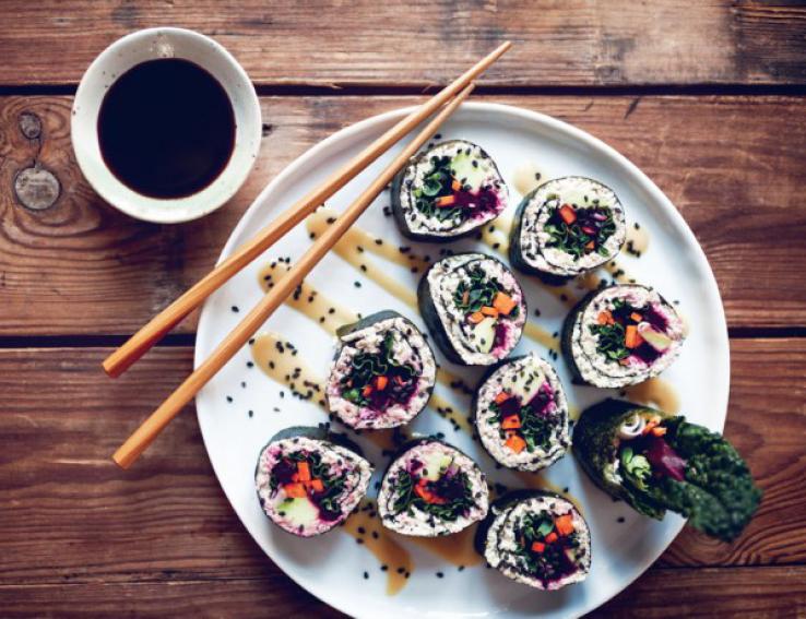 gezonde sushi